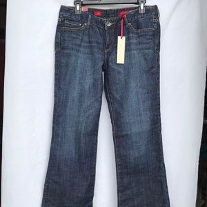 NEW Express Stella low rise boot cut size 8 short